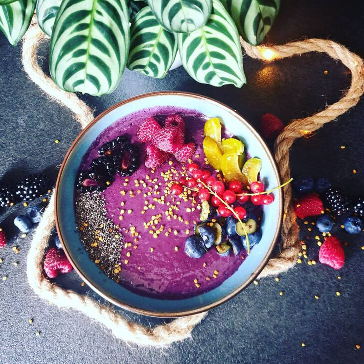 Aronia Smoothiebowl